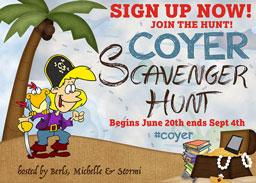 COYER Scavenger Hunt Signup Post!
