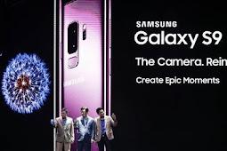 Penjualan Samsung Galaxy S9 Sedikit Laba Perusahaan Turun