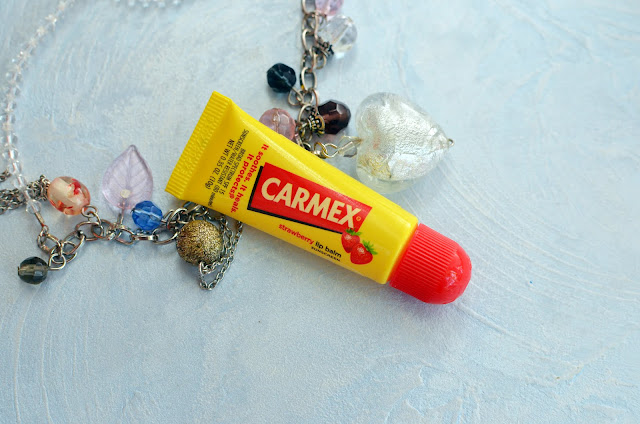 Carmex, Lip Balm, Strawberry, SPF 15
