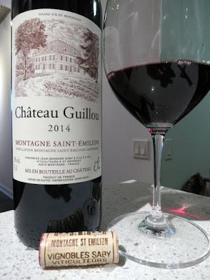 Château Guillou 2014 - AC Montagne Saint-Émilion, Bordeaux, France (88 pts)
