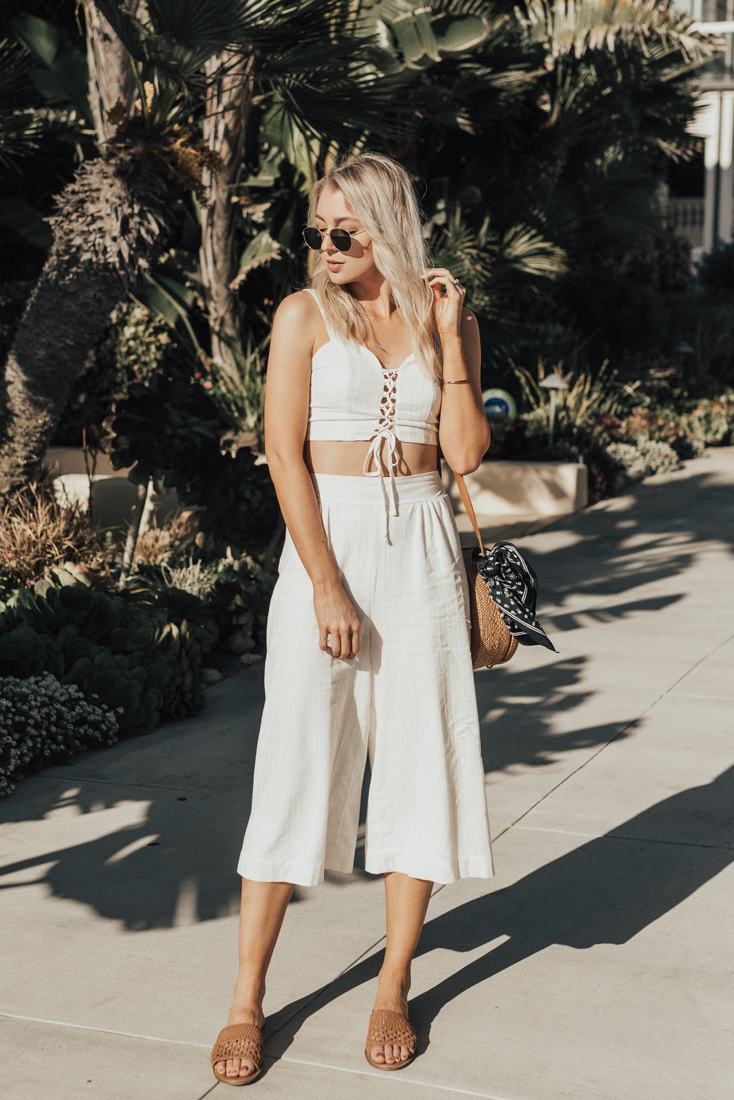 crop top + culottes | love, lenore
