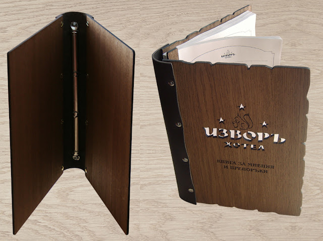 дървен албум, книга за подарък, луксозен фото албум, луксозни тефтери, книга за гости, кожени менюта, подвързия за тефтер, луксозен албум, луксозен подарък, нестандартен подарък, бизнес подаръци, книга за поздравления, книга за пожелания, дървени менюта, папки за менюта, книга за похвали и оплаквания, книга за отзиви, семейна книга, класьор, портфолио, бранд бук, папка за меню, хотелска папка, изработка на папки, папки за менюта, хотелски менюта