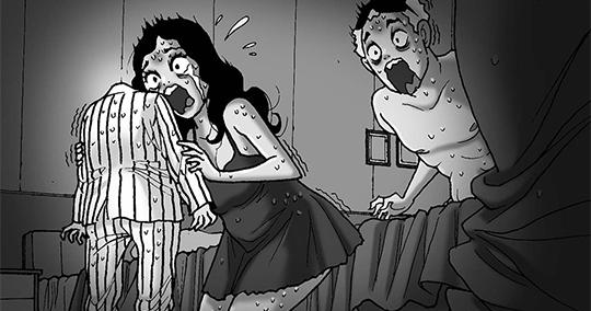 Silent Horror chap 270: Rakugaki - Bức vẽ chết chóc