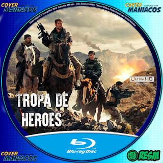 GALLETA-TROPA DE HÉROES / 12 VALIENTES - 12 STRONG