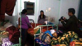 Kalimpong mela rote ping (Ferris Wheel) crashed