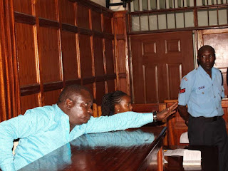 Kobia arraigned in Milimani Court over the abduction of a Congolese man, March 27, 2017.  PHOTO | Courtesy COLLINS KWEYU