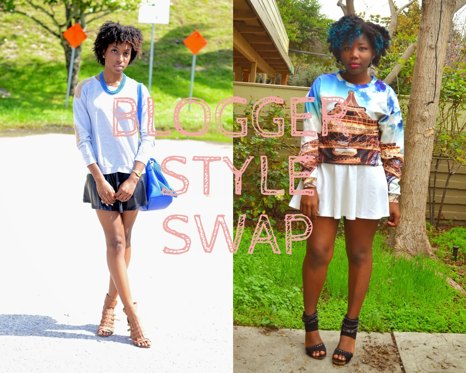 Blogger Style Swap | Sheyla x Diane