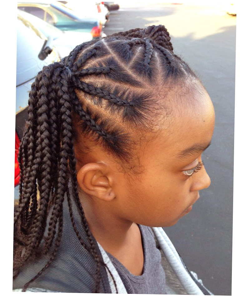 African Kids Hair Style Delectable Best 25 Kids Braided ...