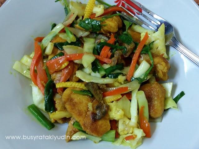#FoodWritingChallenge - Day 7: Resepi Ayam Goreng Kunyit