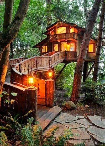 Lugares para soñar | La cabaña del árbol
