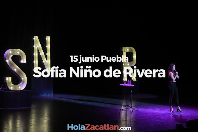 Sofía Niño de Rivera en Puebla