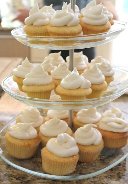 Moist Yellow Cupcakes