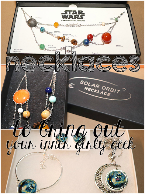 Necklaces to bring out your inner girly geek