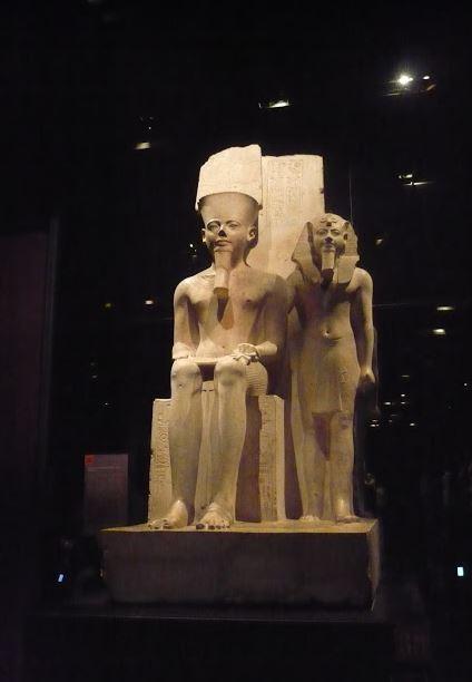 Statua di Amon e Horemeb