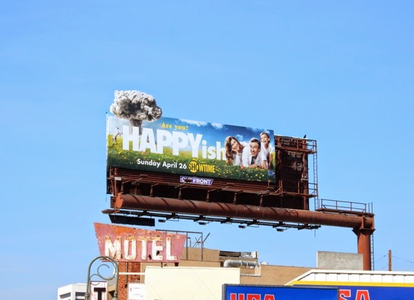 Happyish billboard