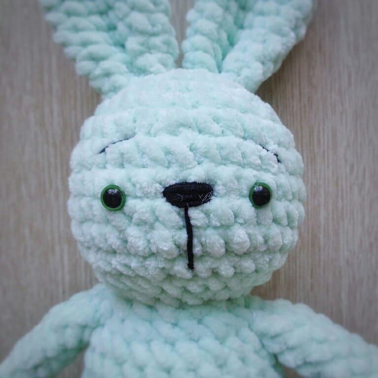 Amigurumi Bunny Crochet Pattern Amigurumi Space
