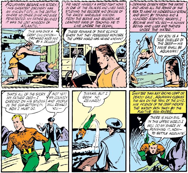 Review Aquaman A Celebration of 75 Years More Fun Comics #73 Mort Weisinger Paul Norris DC Comics hardcover hc comic book