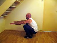Deep squat is a leg exercise