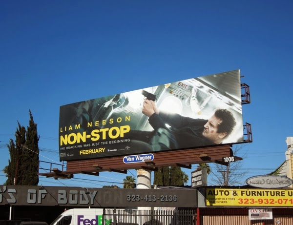 Non Stop film billboard