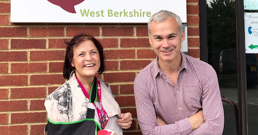 New patron for West Berkshire Mencap