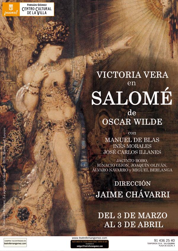 Victoria Vera lleva Salomé al Fernán Gómez hasta el 3 de abril de 2016