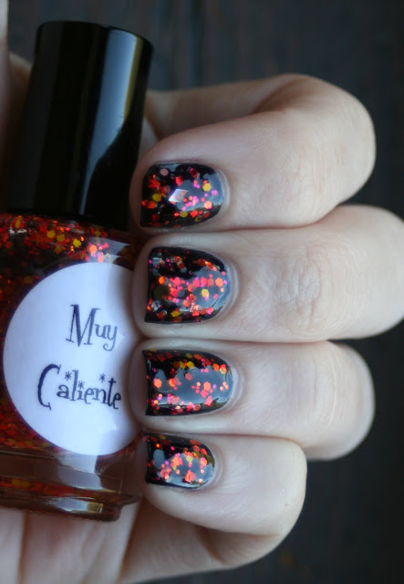 Glimmer by Erica - Muy Caliente swatch
