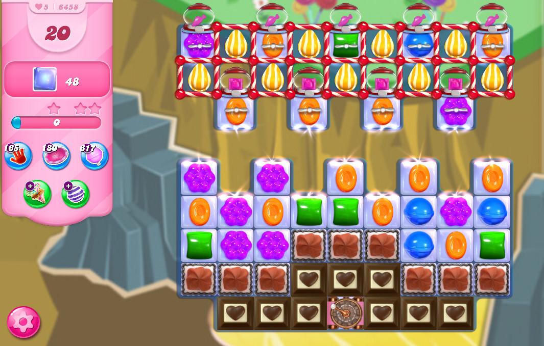 Candy Crush Saga level 6458
