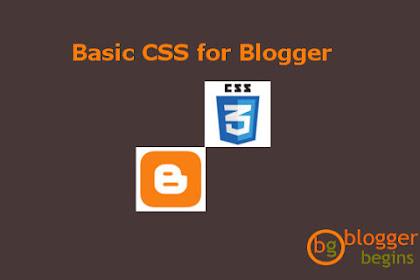 Understanding CSS in Blogger Template
