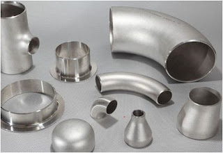 Industrial part made from stainless steel