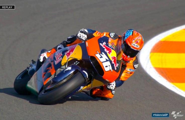 MotoGP Valencia 2016 : Menargetkan bisa finish di Valencia, KTM RC16 malah alami masalah kelistrikan !