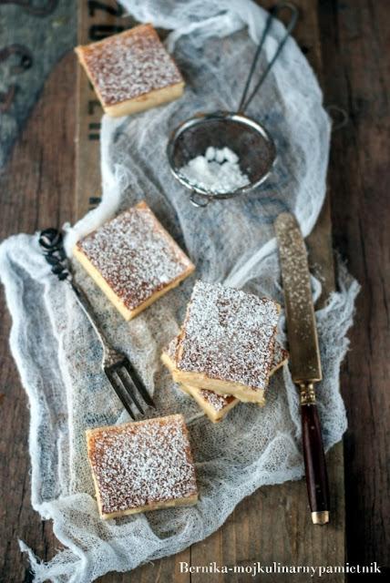 magic cake, cake, ciasto, biszkopt, bernika, wypeeik, deser, magiczne ciasto, kulinarny pamietnik