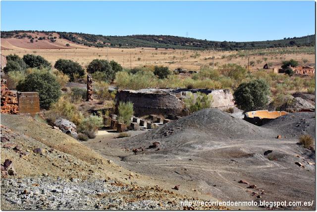 Ruinas en minas de San Quintín