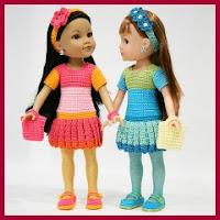Conjunto completo para muñecas