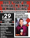 Palestrar com  Alessandro torres repórter da TV  Globo