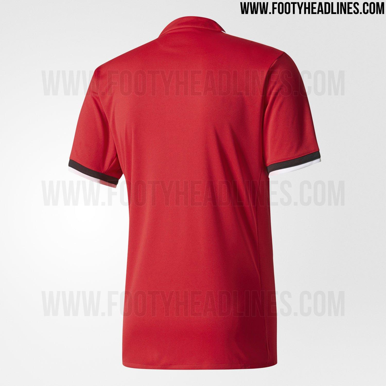 Footyheadlines Manchester United 2018 19 Season Home Kit: Manchester United 17-18 Home Kit Released
