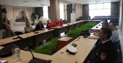 Δήμος Κατερίνης: Σύσκεψη του Συντονιστικού Τοπικού Οργάνου Δ. Κατερίνης (ΣΤΟ), για την αντιμετώπιση κινδύνων από την εκδήλωση πλημμυρικών φαινομένων και χιονοπτώσεων-παγετού