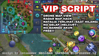 Cara Cheat Radar Map Hack dan Drone Map View Mobile Legends