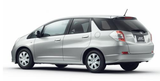 The Abject Archetypal Of 2014 Honda Fit Shuttle Will Be Powered With 1.5  Liter V4 I VTEC Petrol Engine With 120 Hp. The Hybrid Adaptation Starts  Aggregate ...