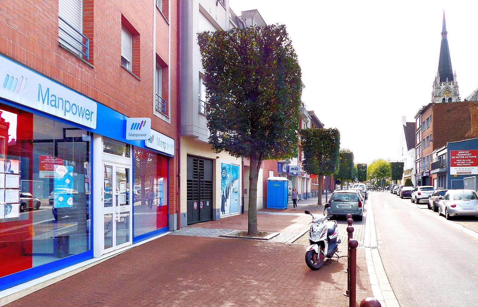 Manpower Interim - Rue de la Cloche, Tourcoing