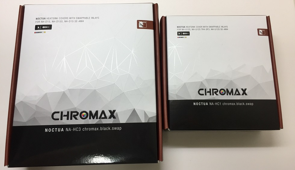 Unboxing and Review of Noctua Chromax Heatsink Covers (NA-HC