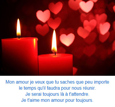 Sms d'amour je t'aime fort