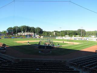 Home to center, Joseph L. Bruno Stadium