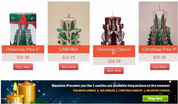 Buy candles through online and enrich your house decoration