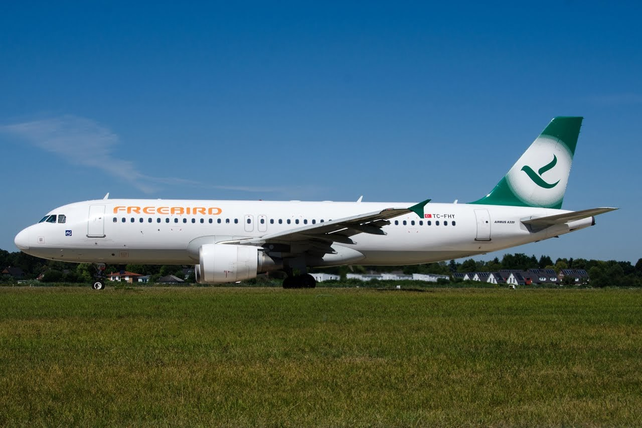 Gb Special A320 214 Freebird Airlines Tc Fhy