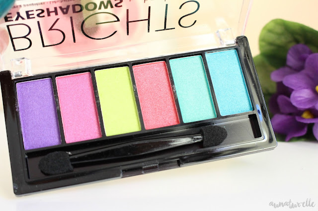 makeup palette brights by technic