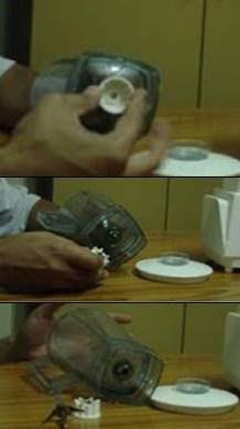 تغيير سكينة الخلاط الكهربائي