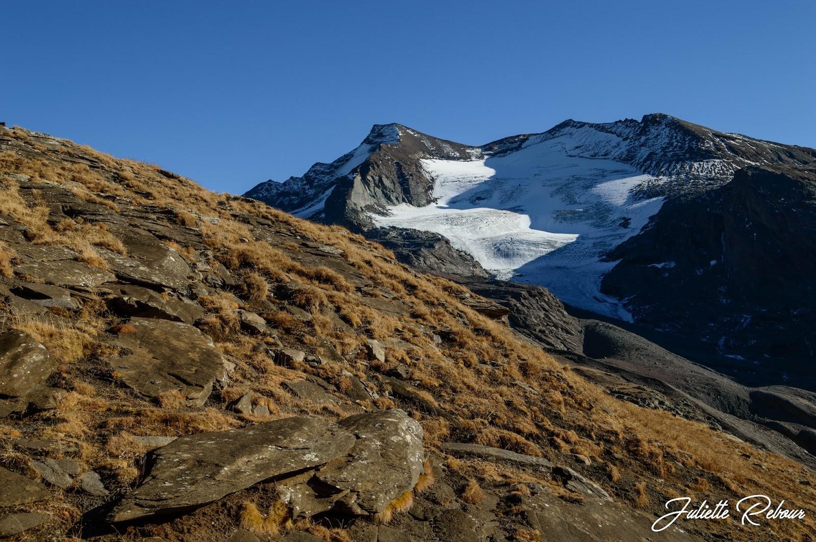 Glacier dans le Parc National de la Vanoise