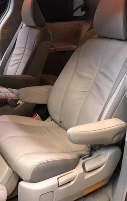 2012 Toyota Sienna Negro Derecho Asiento Piezas De Coches