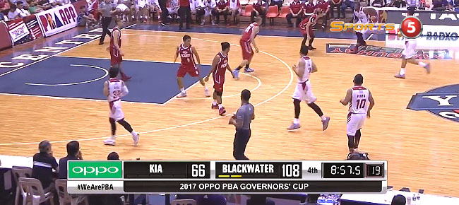 Blackwater def. KIA Picanto, 118-97 (REPLAY VIDEO) September 1