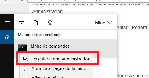 executar como administrador